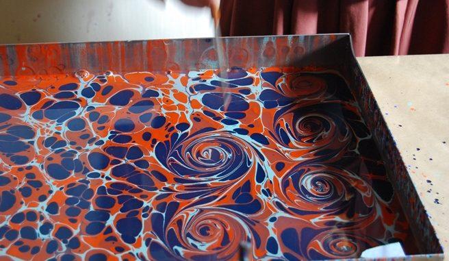 Art of Ebru Painting Turkey